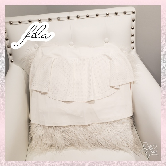 Fila Pants - 🔥Fila tennis skirt golf white orange